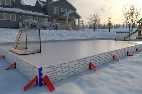 You Could Have An Ice Rink In Your Backyard In Just 1 Hour