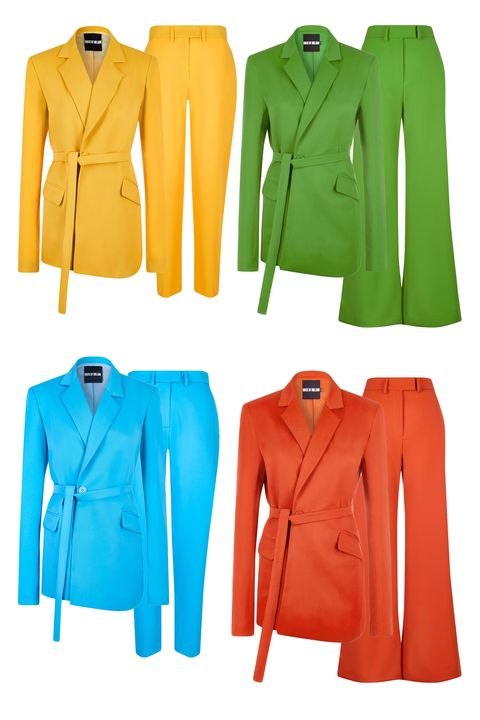 pride fashion - house of holland rainbow suits