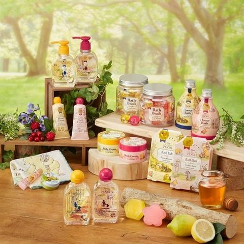 日本推出限定「小熊維尼」蜂蜜香氛護手霜