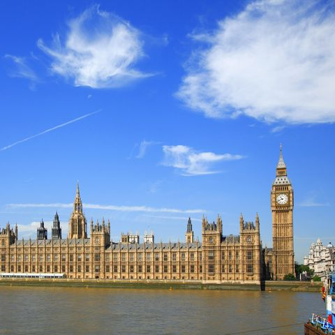 Houses of Parliament in London...