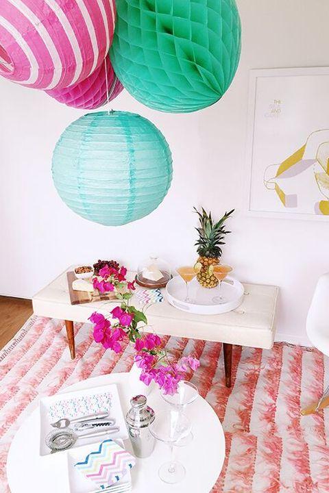 housewarming party ideas tropical