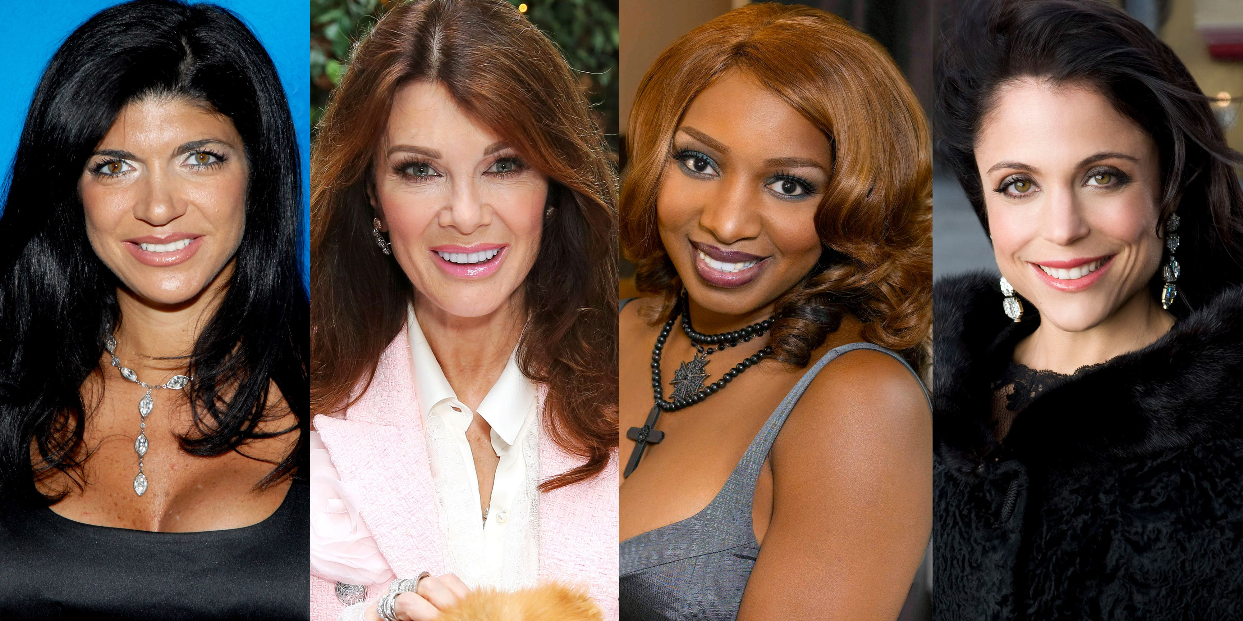 The Real Housewives Cast Members Pictures Then And Now