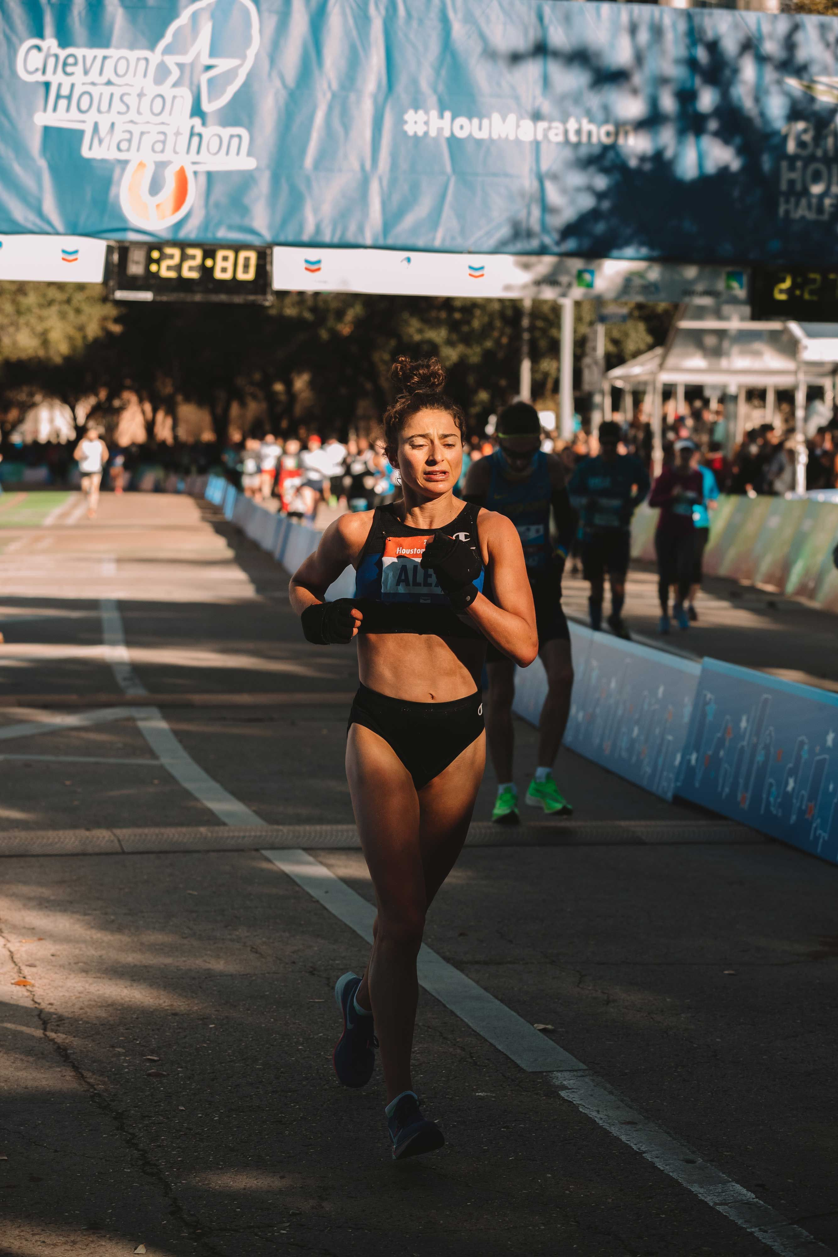 Alexi Pappas Shares How She Fueled for a Huge PR in Houston