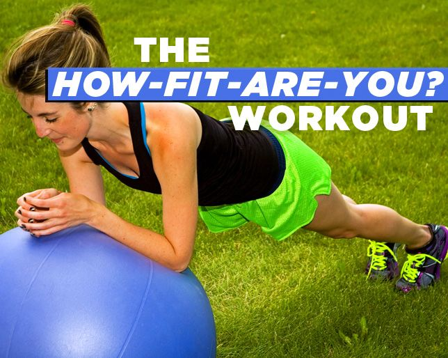 How Fit Are You? Test Yourself with These 6 Exercises