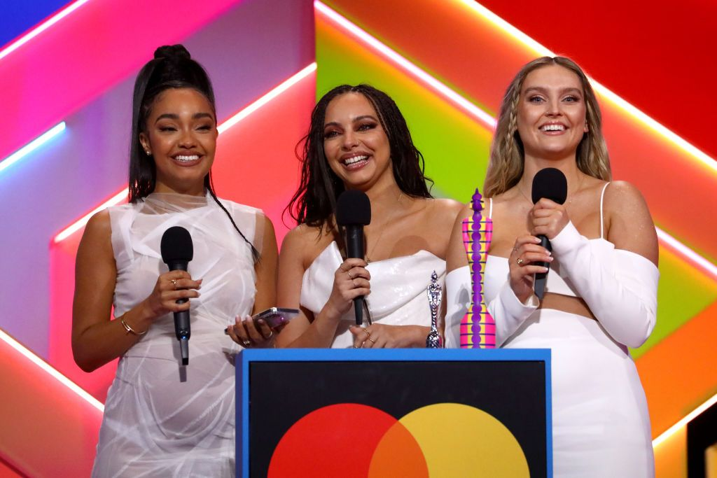 Brits: How Jesy Nelson reacted to Little Mix's win