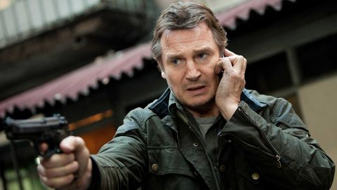 Movie, Action film, Finger, Leather, Jacket, Fictional character, Gesture,