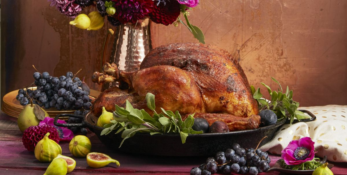 We Made a Chart That Shows You How Long It Takes To Cook Any Size Turkey