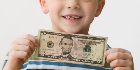 how much does tooth fairy give