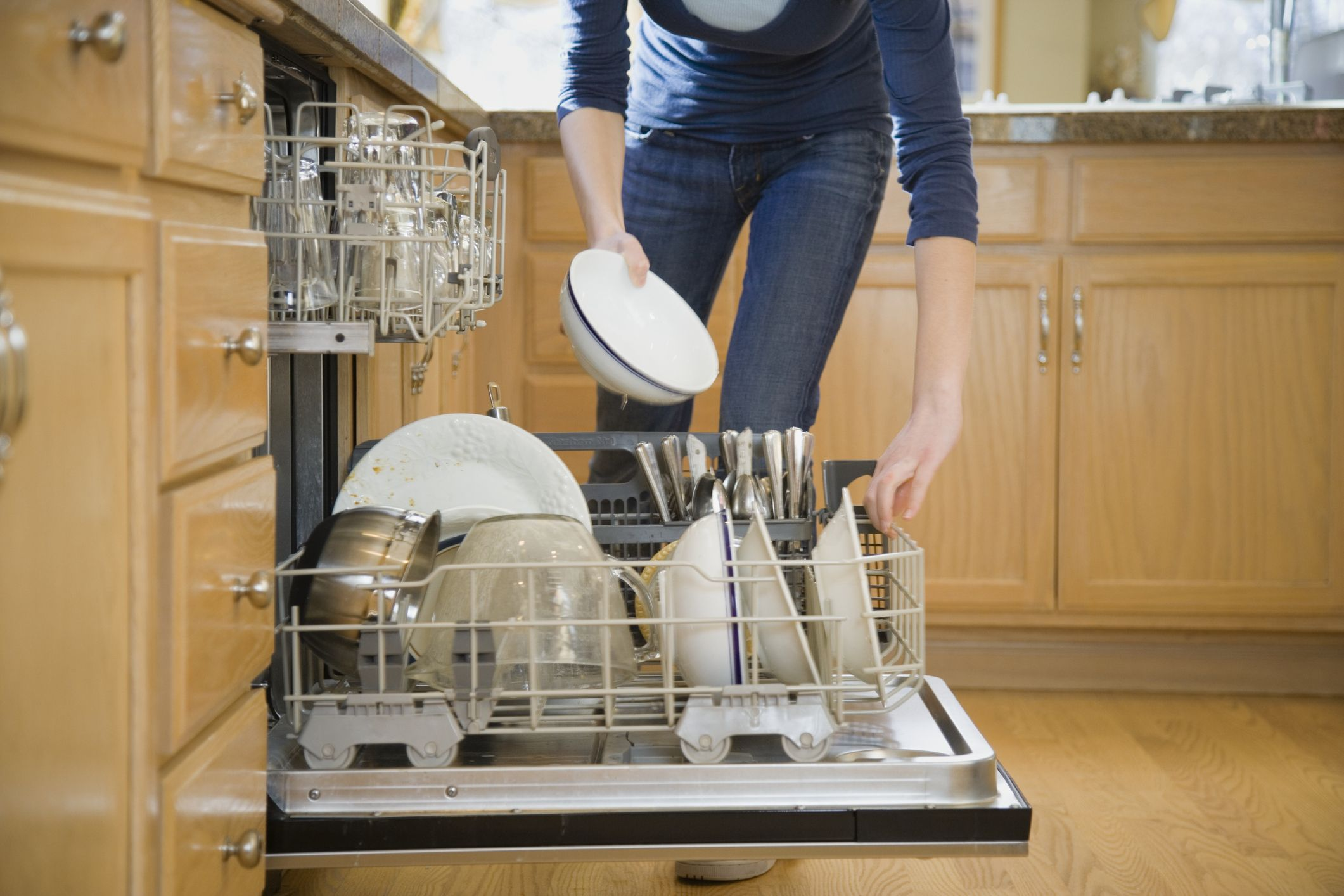 How To Clean A Smelly Dishwasher The Inside Of