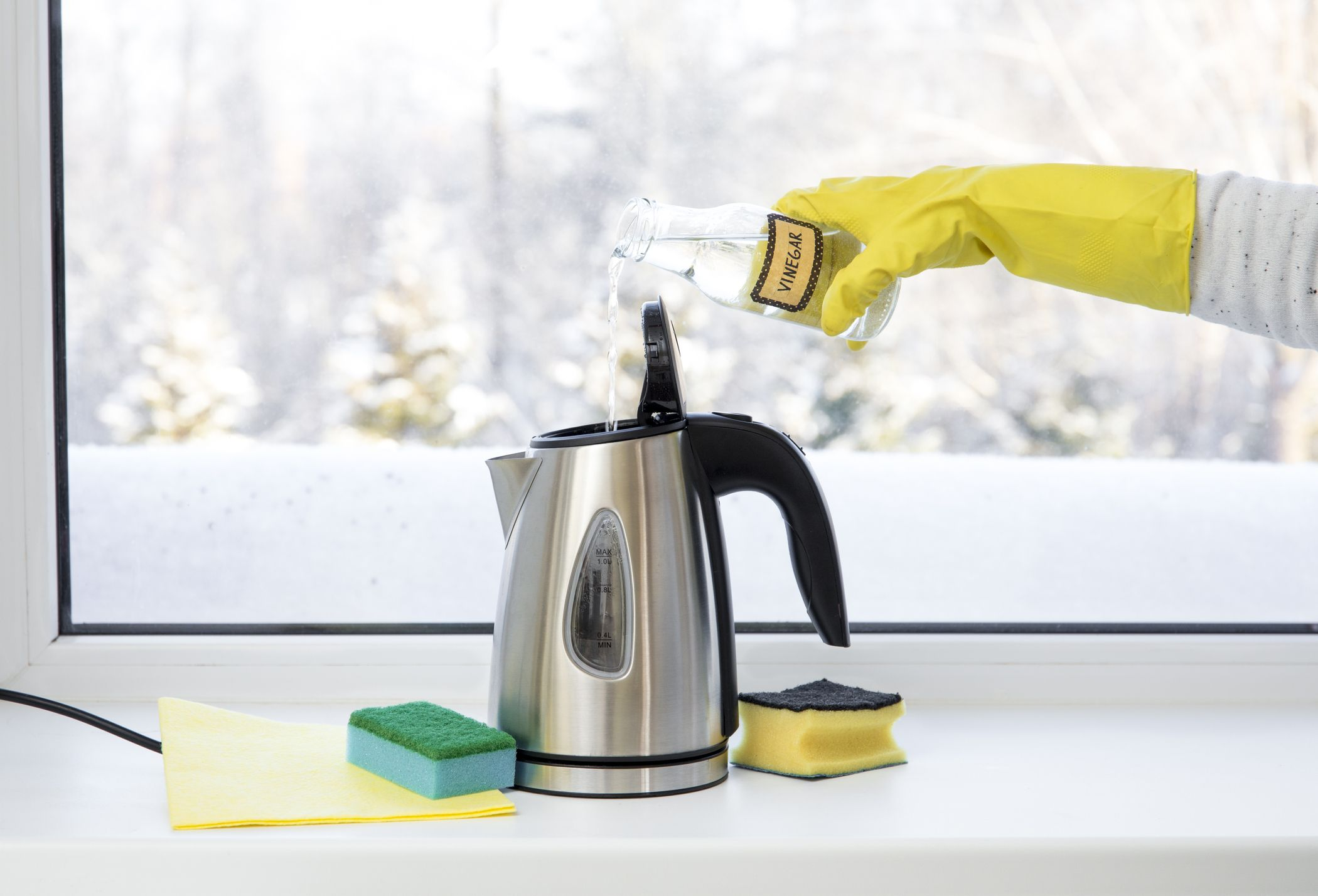 How To Clean Electric Kettle Tea From Inside
