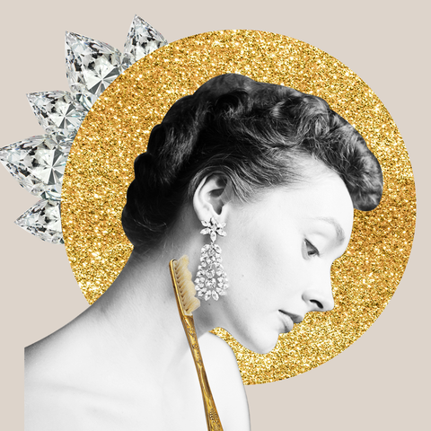 how to clean diamond earrings