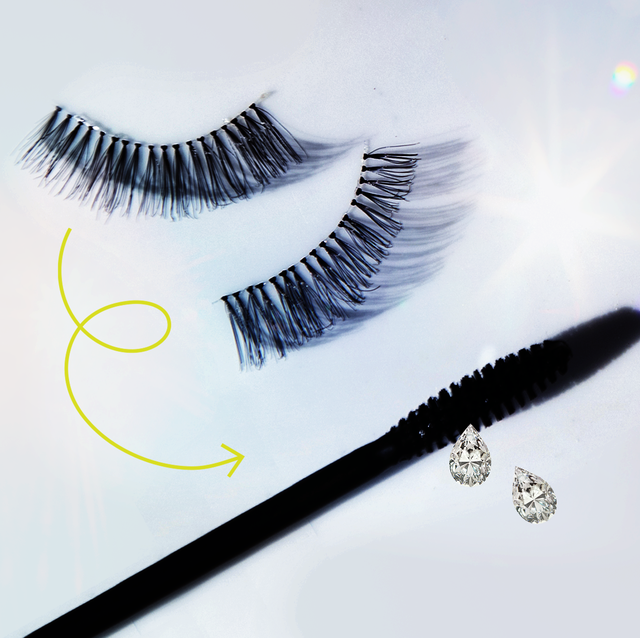 how to clean false lashes