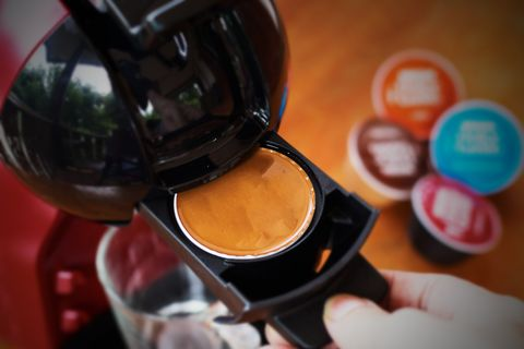 how to clean a keurig single use pod coffee machine