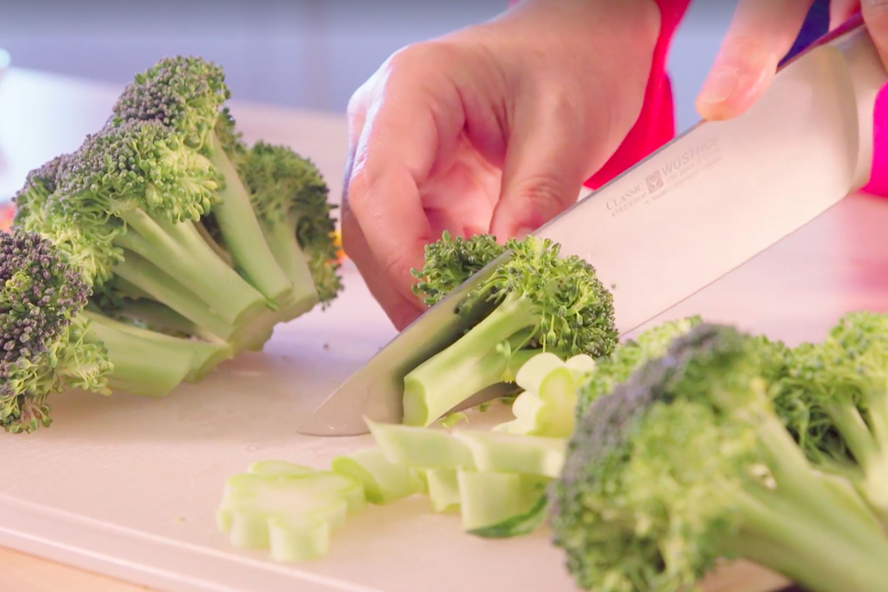 how to cook broccoli step 1