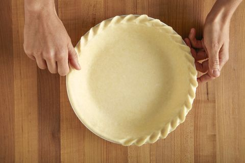 pie crust with rope edge