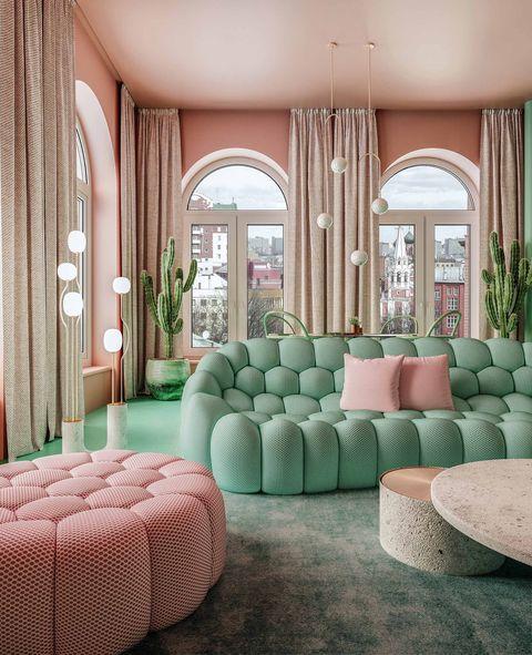decorate with geometrics dmitry reutove sofa veranda