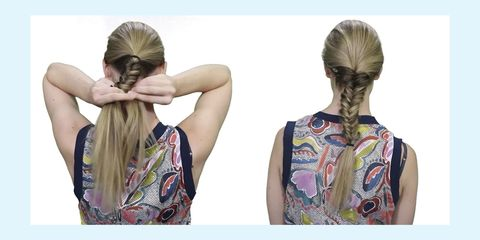 how to do a fishtail plait easy tutorial