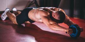 腹筋腹筋ローラー,トレーニング,筋肉,シックスパック,負荷,回数,正しいやり方,腹直筋,腹斜筋,上腕三頭筋,広背筋,脊柱起立筋