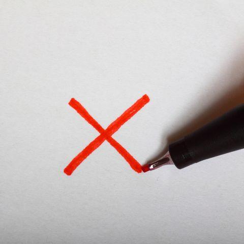 draw an x