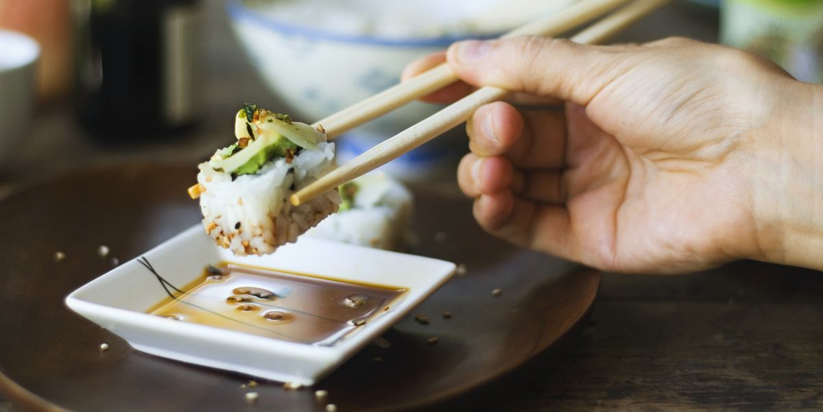 There's a good chance you've been dipping your sushi into soy sauce wrong this whole time