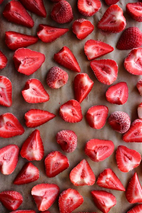 how to freeze strawberries   delishcom
