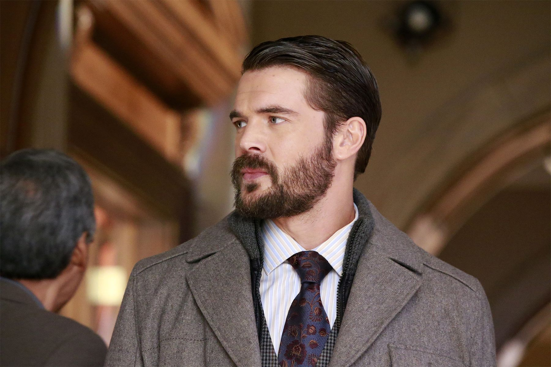 How To Get Away With Murder  Frank's Buzz Cut In The Season3 Premiere