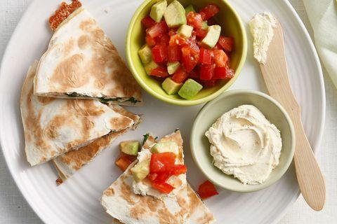 Dish, Food, Cuisine, Ingredient, Produce, Brunch, Staple food, Finger food, Recipe, Quesadilla,