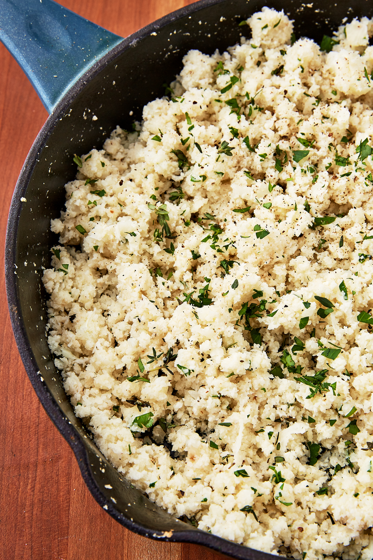 How to Make Cauliflower Rice - Delish.com