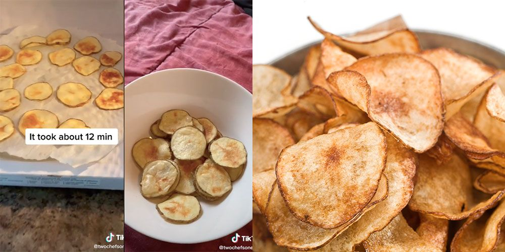 Microwaveable Crisps Are Going Viral On TikTok, And They Couldn't Be Easier To Make!