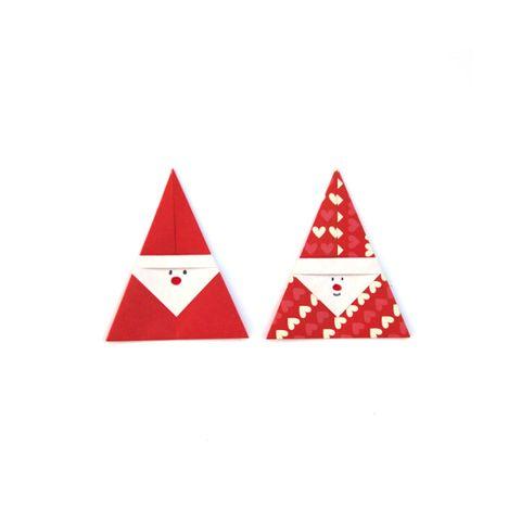 christmas origami   santas