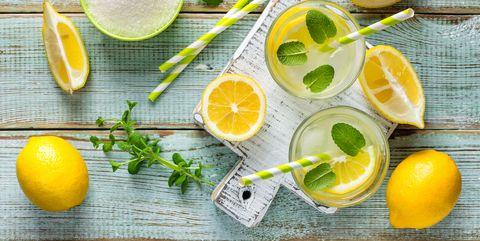 How to Make Homemade Lemonade - Flavored Lemonade