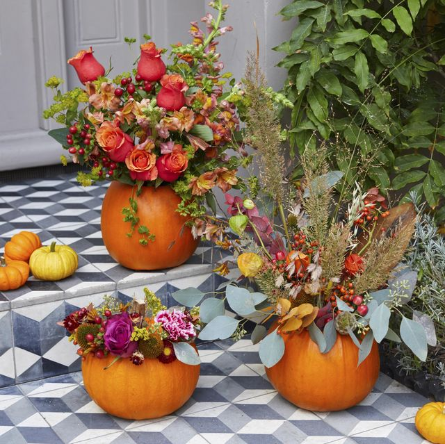 how to make your own pumpkin vase