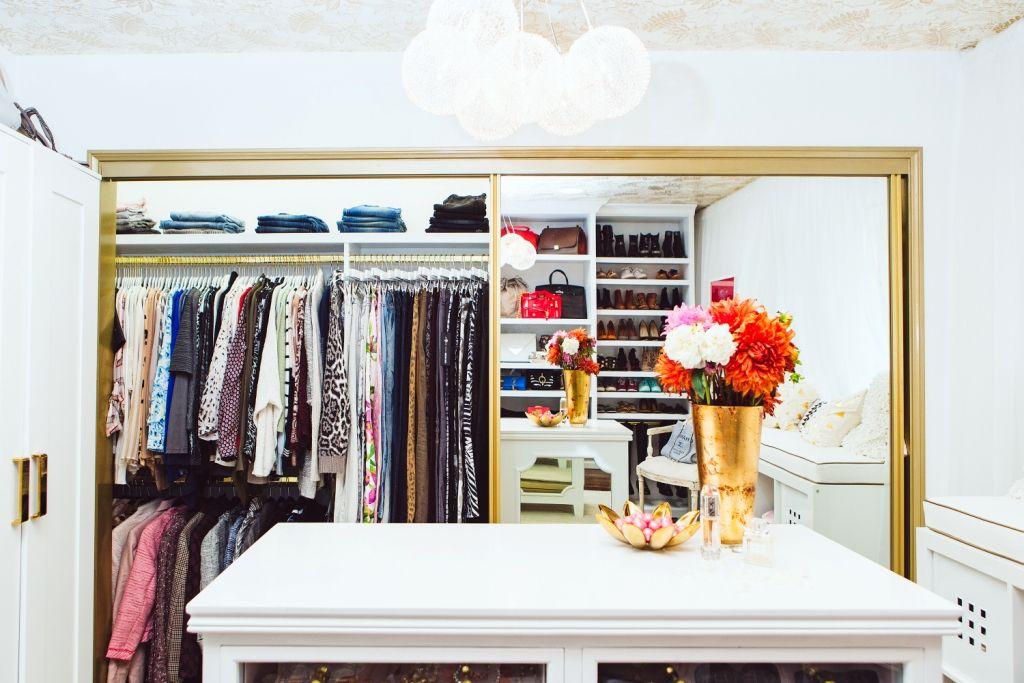 8 Simple Closet Ideas From Lisa Adams Closet Organization Ideas