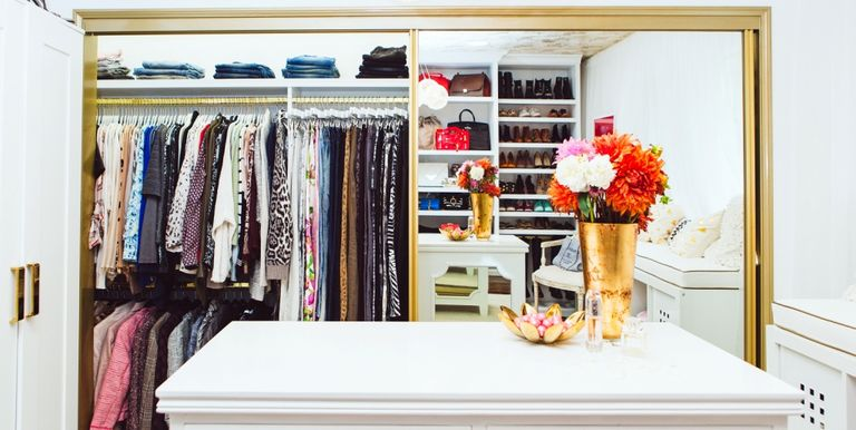8 Simple Closet Ideas From Lisa Adams - Closet Organization Ideas