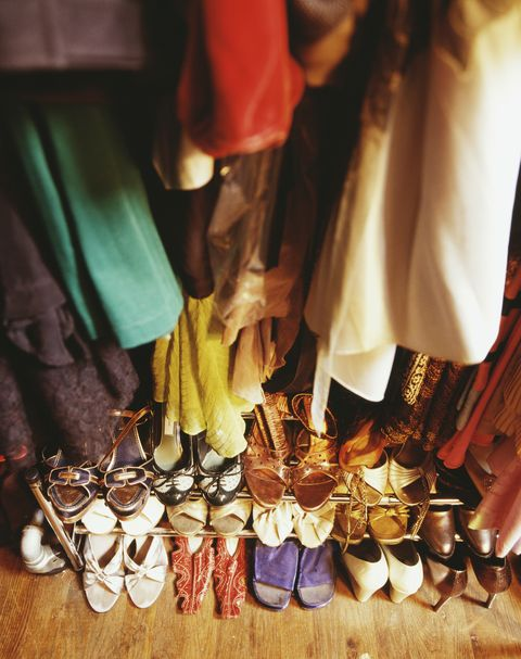 how to organize a closet purge