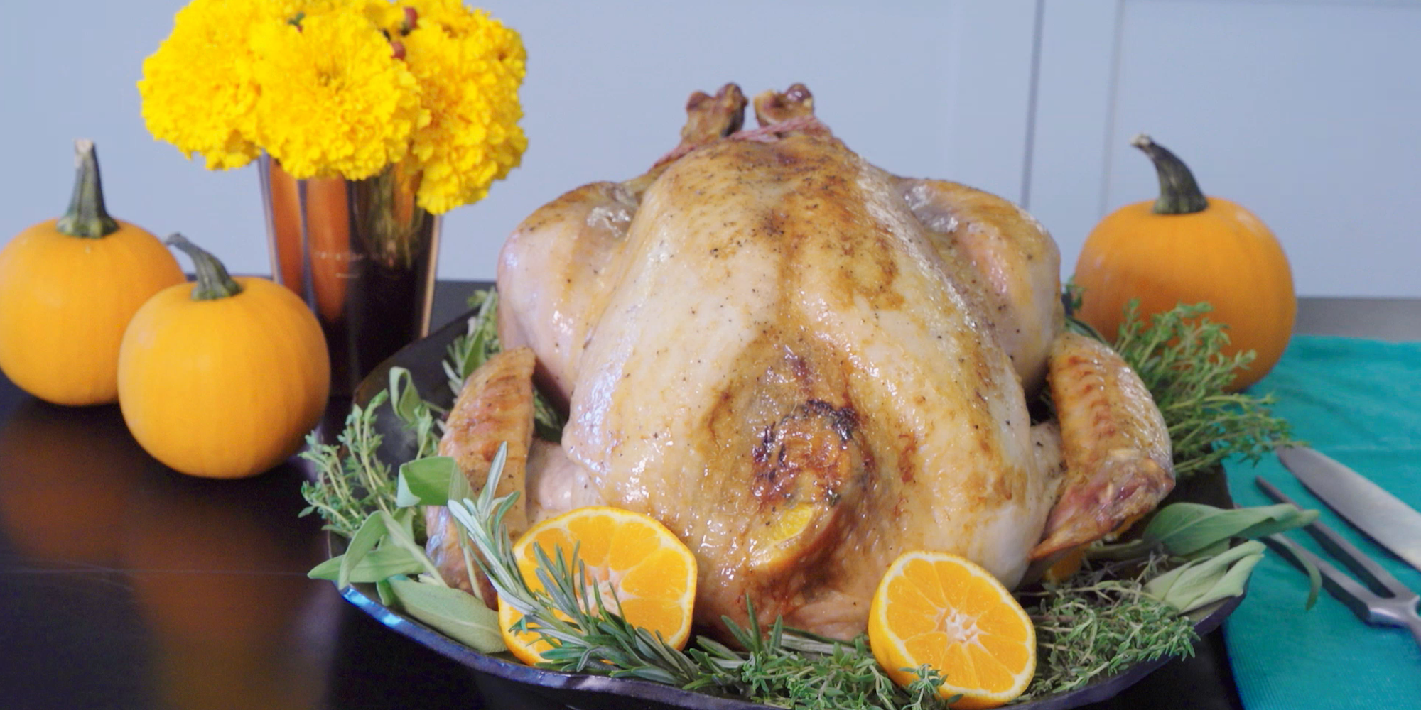 how to prepare and roast a turkey