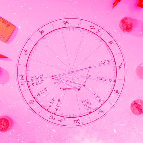Pink, Red, Circle, Magenta, Colorfulness, Illustration,