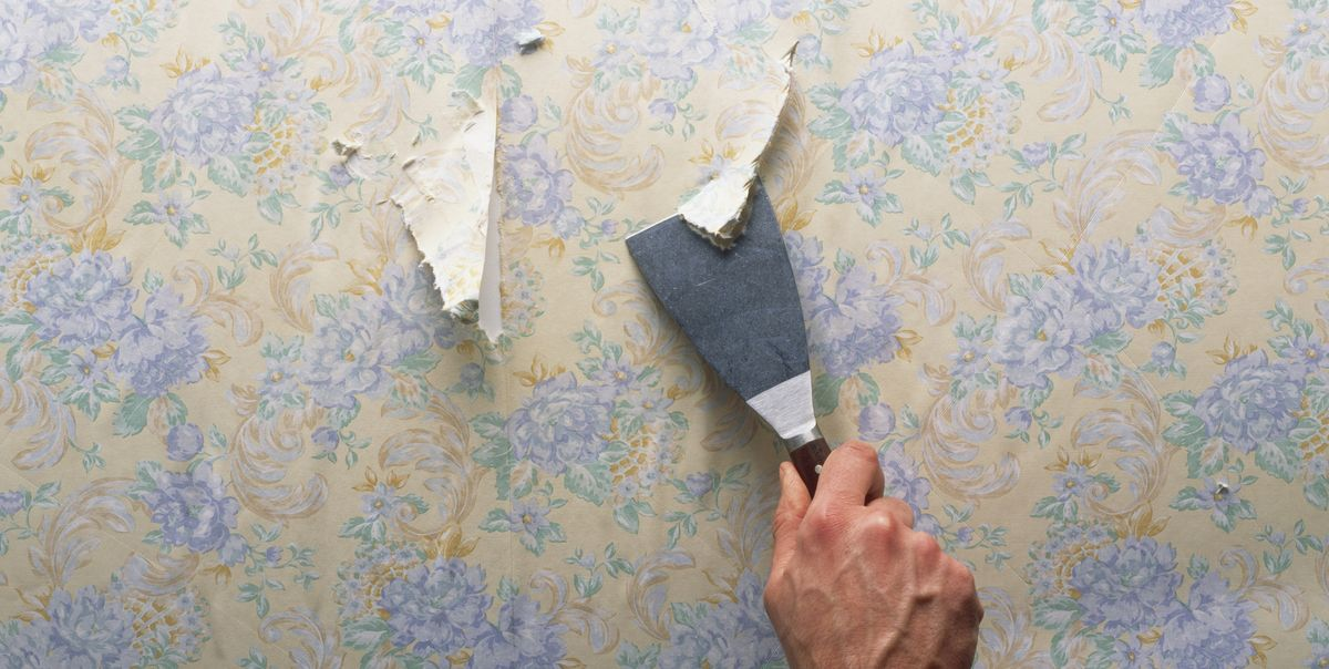 How To Remove Wallpaper - 7 Easy Steps to Take Off Old ...