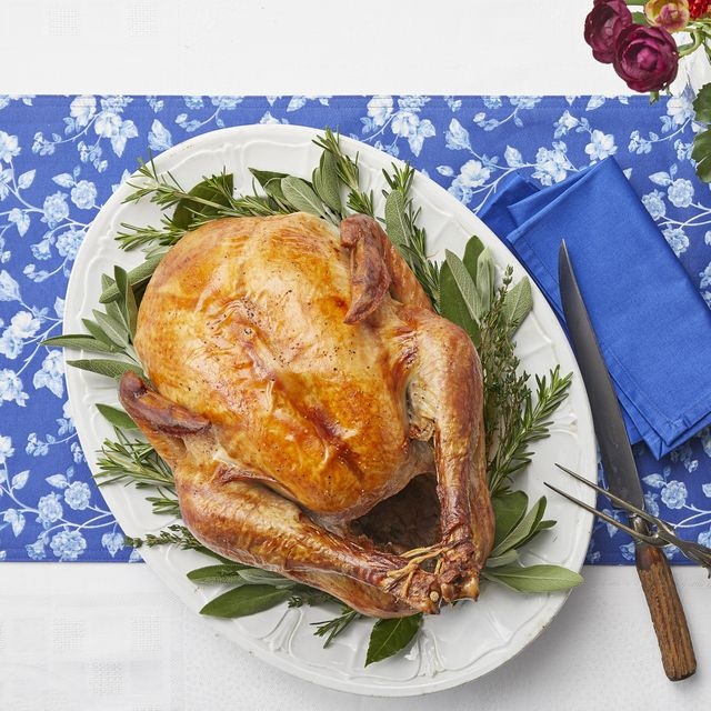 how to season a turkey tabletop