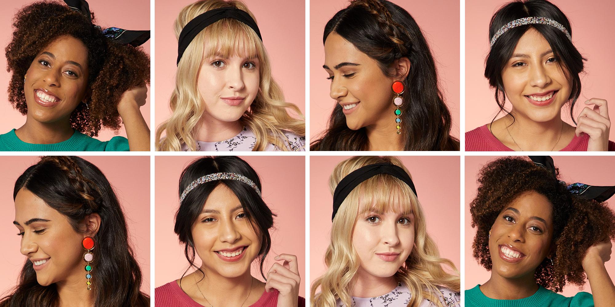 How to Wear a Headband - Cute Headband Styles for Adults