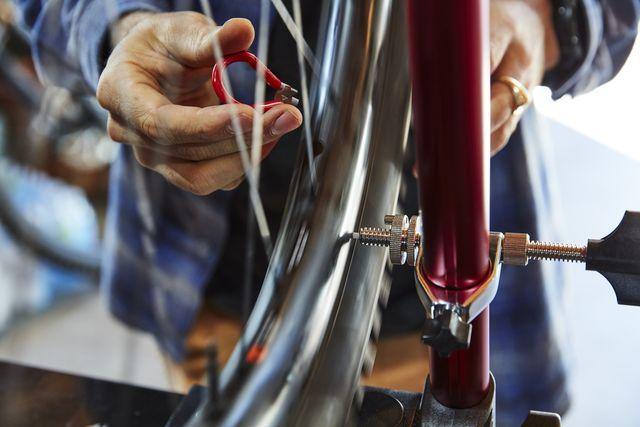 truing a wheel