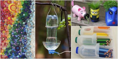 16 Creative Ways To Reuse Plastic – Plastic Upcycling Ideas
