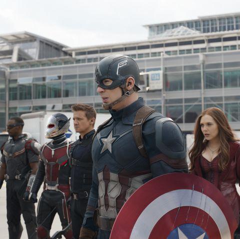 captain america movies in order