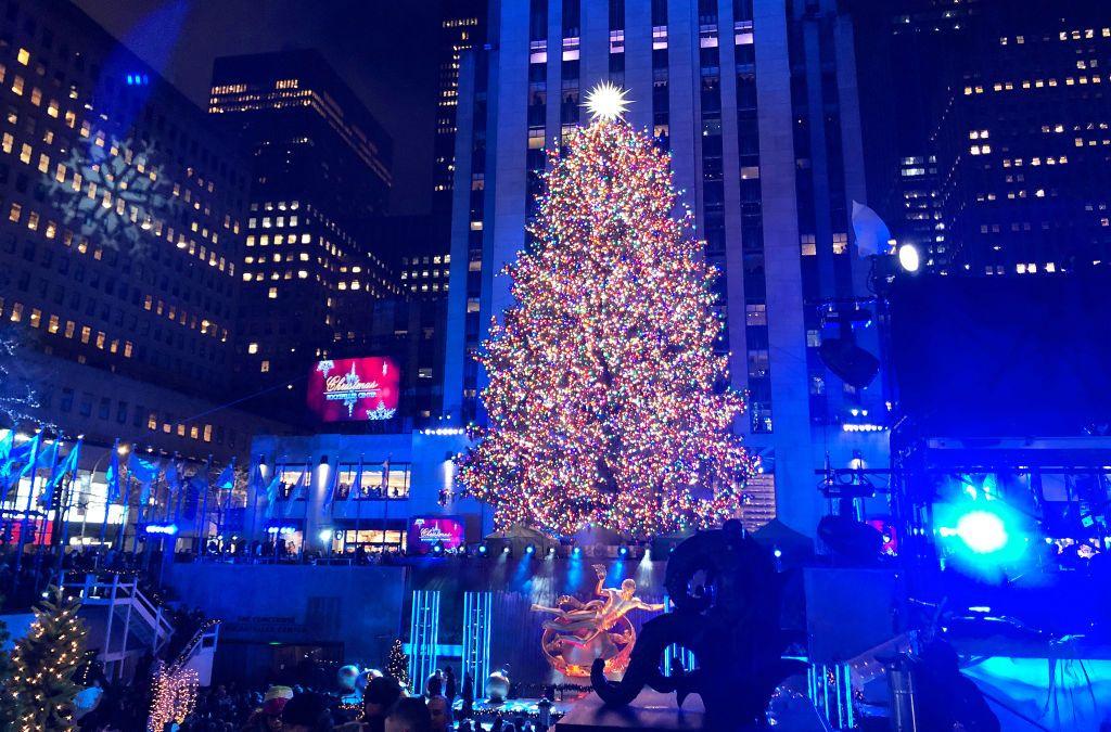 Port Jefferson Christmas Tree Lighting 2021