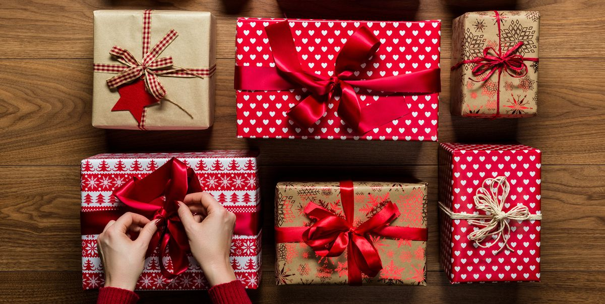 Wrap a Gift - Wrapping a Present Step