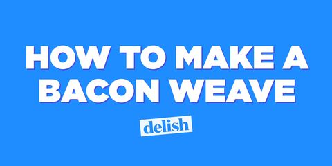 How to make a bacon weave title card