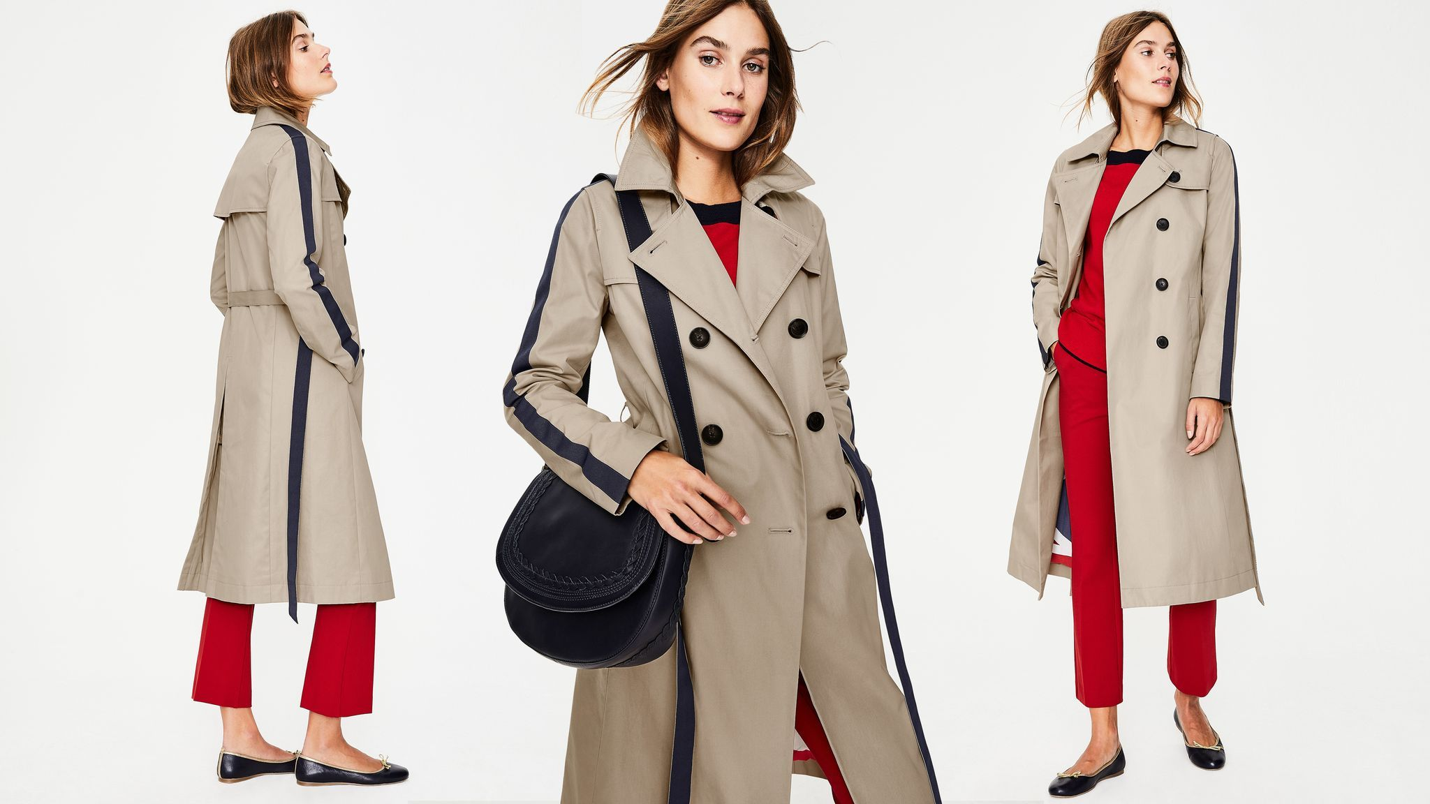 Boden's cult trench coat is on sale for a limited time only