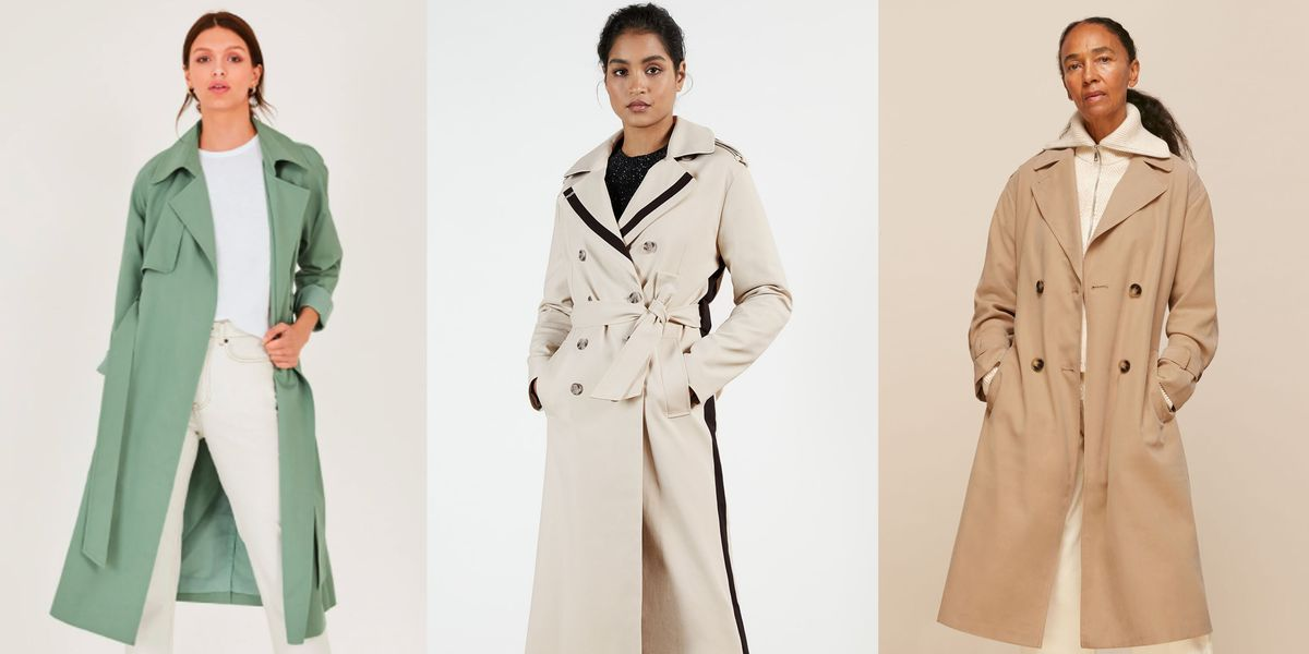 How to wear a trench coat in four different ways