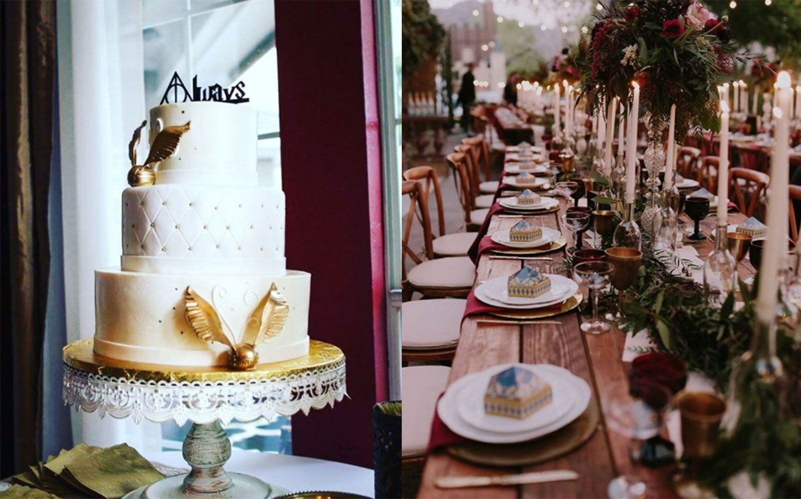 These Harry Potter-Themed Weddings Will Make Any Muggle Jealous