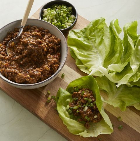 Chicken and Lettuce Cups